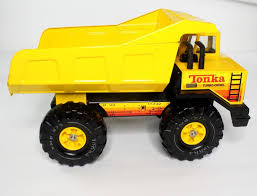 Vintage TONKA Yellow Turbo-Diesel Dump Truck Toy GREAT PAINT ...
