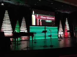 Menards Christmas Tree Bag by Christmas Piled Church Stage Design Ideas