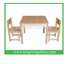Solid Wood Kids Play Table And Chairs - Vertu Signature S ...