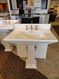 Kohler Archer Pedestal Sink Single Hole by Bathroom Kohler Memoirs Kohler Memoirs Stately Pedestal Sink 24