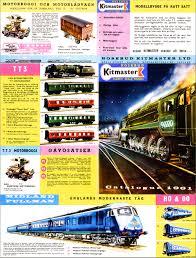 100 Dessa Dutch Kitmaster Model Railways Catalogues 1961 Catalogue