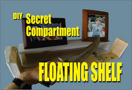 Diy Hidden Gun Cabinet Plans by Diy Secret Compartment Floating Shelf Youtube