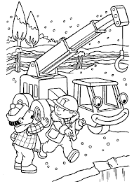 AltBob The Builder Coloring Pages Truck