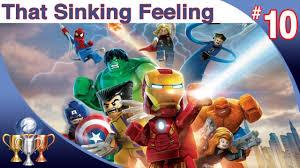that sinking feeling lego marvel stan lego marvel heroes walkthrough level 10 that sinking