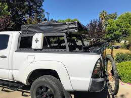 Randybuilt Pickup Roof Top Tent Rack For Bikes- Mtbr.com Rooftoptenttacoma Roofnestuk China Whosale Cheap And Best Truck Tent Roof Top Cvt Highland Expedition Outfitters Ventura Deluxe 14 Tents On Tacomaaugies Adventures Sydney Roof Top Tent 23zero Nuthouse Industries Tepui Rooftop Quality Car Camping Topper For Bed Find Deals On Line At Midsize Hot Hard Shell For Photos