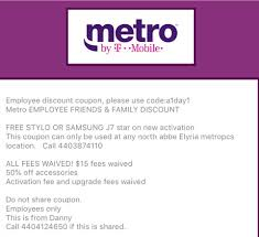 Metropcs Employees. This Can't Be Used... - Metro By T ... Ecommerce Promotion Strategies How To Use Discounts And What The Tmobile Takeover Of Sprint Means For Your Wireless To Apply A Discount Or Access Code Your Order Add Line And Get Free On Family Plan Isis The Mobile Payments Iniative From Att Verizon T Shopee Promo Code Latest Discount 20 Cardable Find Online Coupon Codes Pcmag Callingmart Coupon T Mobile Mgo Codes December Tmobiles Revvl Specs Features Pros Cons Book On Klook Blog Here Are Best Deals Offers Right Now