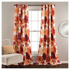 Target White Room Darkening Curtains by Leah Curtain Panels Room Darkening Set Of 2 Target