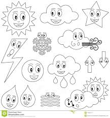 Lovely Weather Coloring Pages 92 In For Kids Online With