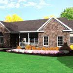 Simple Single Level House Placement by House Bungalow Single Level Sale Building Plans 66399
