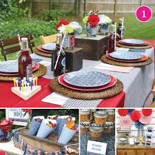 Backyard Bbq Decoration Ideas by Party Of 5 Patriotic Bbq Sugar U0026 Spice Top Chef Hungry