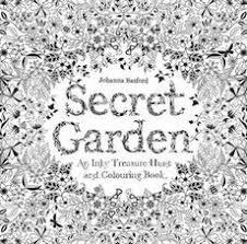Secret Garden An Inky Treasure Hunt And