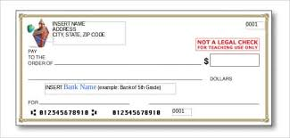 Blank Check Template – 28 Free Word PSD PDF & Vector Formats