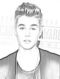 Full Size Of Coloring Pageappealing Justin Bieber Print Page Beautiful