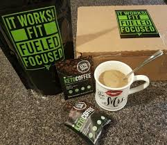 It Works Keto Coffee Easy On The Go Packets That Can Be Mixed Hot Or Cold Contains MCT Oil Collagen And Grass Fed Butter