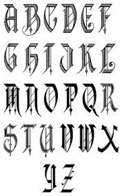 Free Old English Letters Fonts Alphabet