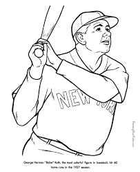 Yankee Doodle Coloring Page 19 New York Yankees Printable Pages