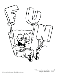 Spongebob Halloween Printable Coloring Pages Drawing Free Online Squarepants Full Size