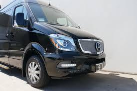 Custom Interior Bespoke Mercedes Benz Luxury Sprinter Van Conversion Mobile Offices