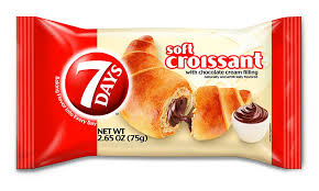 7Days Soft Croissant Chocolate 265 Oz Pack Of 6 Amazon Grocery Gourmet Food