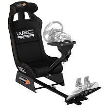 siege volant ps3 playseats wrc siège simulation automobile noir base noir pc ps3