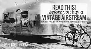 104 22 Airstream For Sale Before You Buy A Vintage Read This Livin Lightly