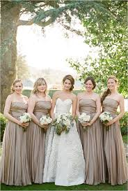 Neutral Bridesmaid Dress Perfect For Wedding