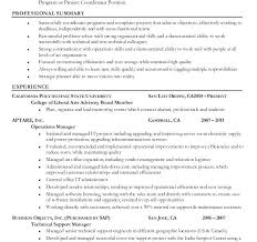 Sample Project Coordinator Resume Download Administration Ngo