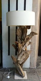 DIY Vintage Driftwood Lamp