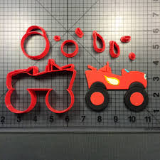 100 Monster Truck Cookie Cutter Blaze 100 Set