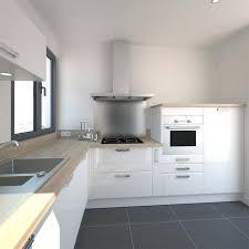 modele de cuisine blanche modele de decoration de cuisine fabulous armoires de cuisine