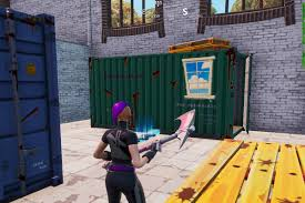 100 Steel Shipping Crates Fortnite Chests Inside Containers With Windows Spray Guide