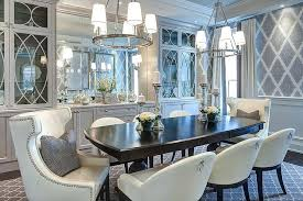 Dining Sets With China Cabinet Gray Room Glass Front Cabinets