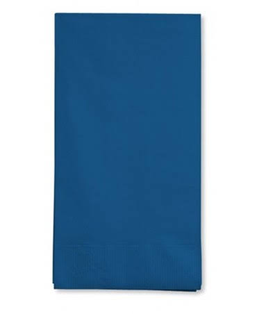 Creative Converting Touch of Color 3 Ply Color Napkins - Navy Blue