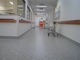 Hospital Vinyl Flooring Plastic Rubber Floor Tiles