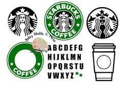 Starbucks Coffee Svg File CUT SVG Png Jpg Custom Logo For Silhouette Cameo Or Cricut DIY