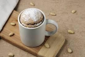 schneller tassenkuchen mit schokostückchen