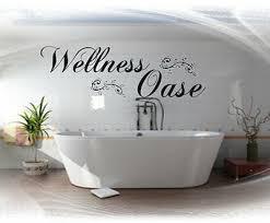 wandtattoo bad badezimmer wellness oase wandspruch wand sticker ebay