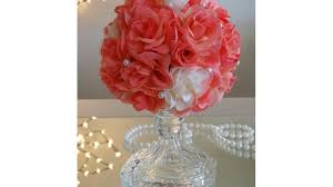 Payless Decor Promo Code by Diy Mini Rose Ball Wedding Decor 2017 Under 5 00 To Make Youtube