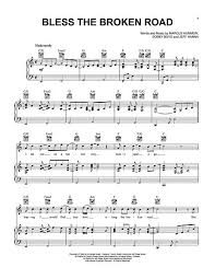 Gods Coloring Book Lyrics Download Bless The Broken Road Sheet Music By Rascal