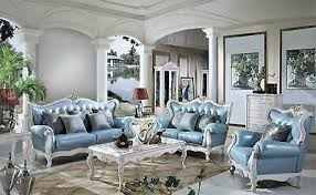 italienische luxus möbel barock rokoko stil leder komplett