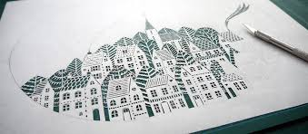 Incredible Paper Art Hand Cut From Single Sheets Paper By Suzy