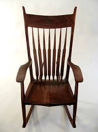 Sam Maloof Rocking Chair Video by Warriors Mark A Sam Maloof Rocking Chair