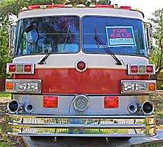 Buy This Large, Red, Lightly Used Fire Truck In NW Austin | ATX Car ...