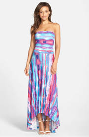 strapless dresses on trend for summer wedding guests 2017 style