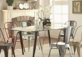 Dining Table With Metal Chairs Creative Room Elegant Of Quartz
