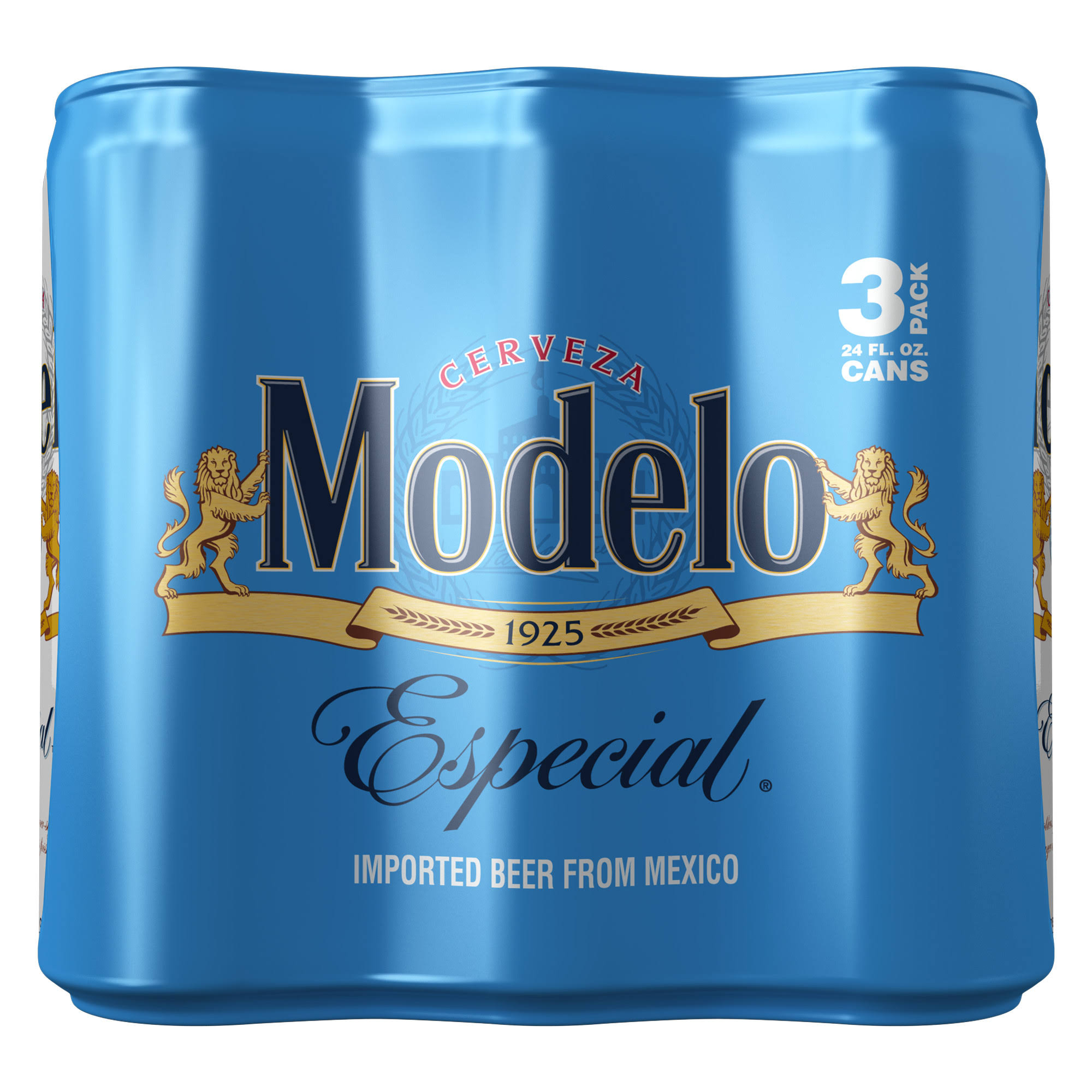 Modelo Especial Beer - 24oz, 3 Pack