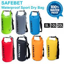 SAFEBET Waterproof Dry Bag FREE Shoulder Strap Belt Beach Swimming