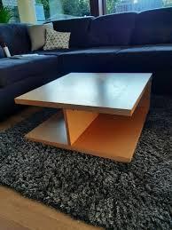 couchtisch wohnzimmer tisch 70x70x30 buche echtholz massiv hülsta