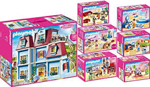 geobra brandstätter playmobil dollhouse 7er set 70205 70206