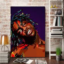 100 Pop Art Home Decor Susu Chief Keef WPAP Canvas Giclee Print Painting Picture Wall WPAP Gifts With Framed Size 2 16x24inch